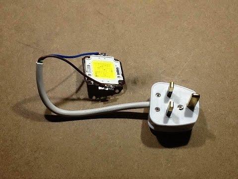 DANGEROUS 100W LED EXPLODES!