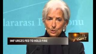 IMF Urges Fed To Hold Fire. Window Open For Greece Resolve