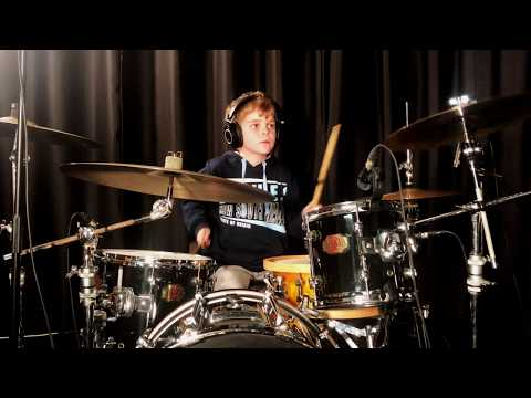 Starlight - Muse (Drum Cover By Charlie Wood)