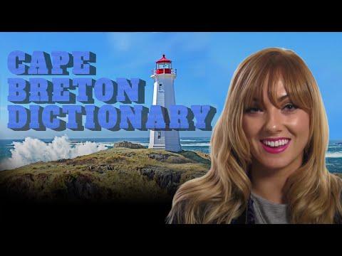 Cape Breton Dictionary