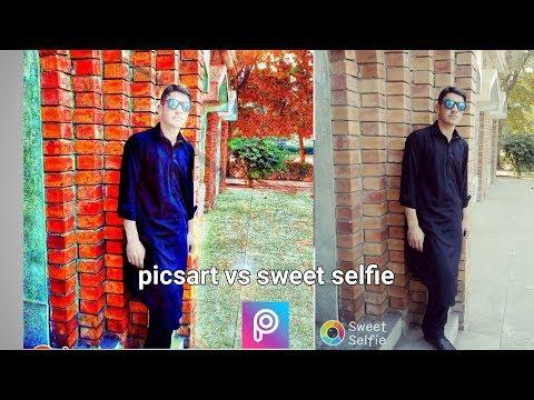 picsart-vs-sweet-selfie-picsart-is-best-for-editing