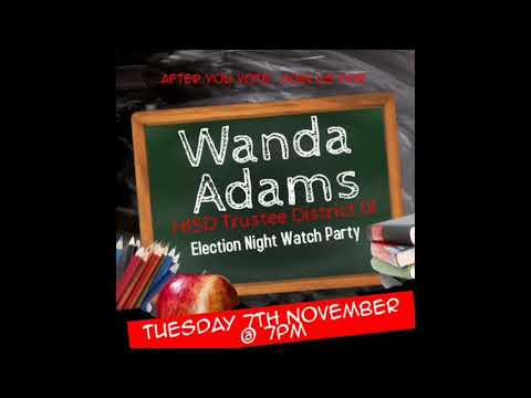 We See Media Presents Wanda Adams Election Night