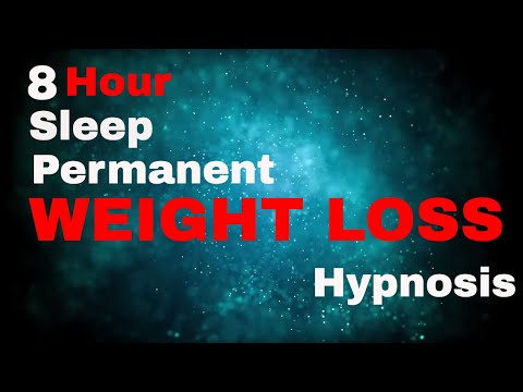 Weight Loss 8 Hour Sleep Hypnosis Permanent  (subliminal)