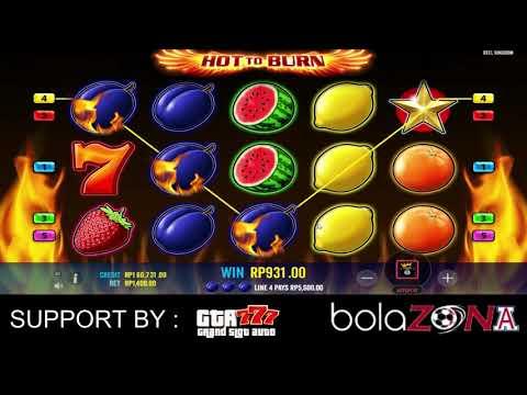 "Game Slot "" Hot To Burn "" Via Pragmatic Pulsa Online"