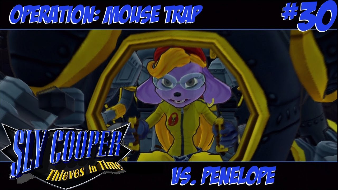 Sly Cooper Thieves In Time Episode 30 Operation Mouse