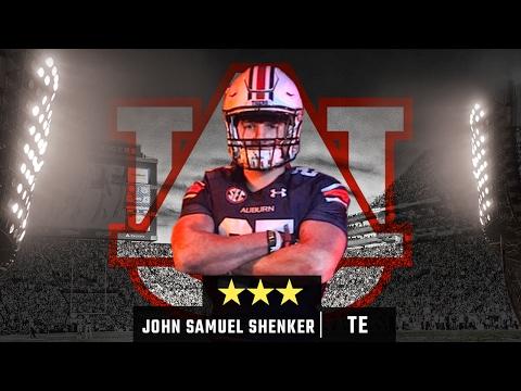 John Samuel Shenker has versatility as H-back, tight end for Auburn