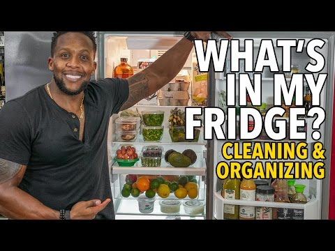 My Fridge! Cleaning & Organizing a Healthy Fridge / Limpiando y Organizando una Nevera Sana