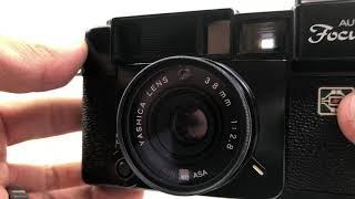 Yashica Auto Focus 35mm Film Camera Testing
