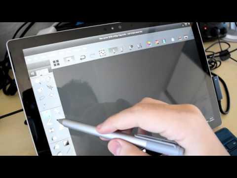 Microsoft Surface Pro 4 pen hands on