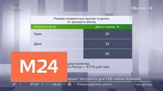 Смотреть видео В Госдуме во втором чтении приняли законопроект о неплательщаках алиментов - Москва 24 онлайн