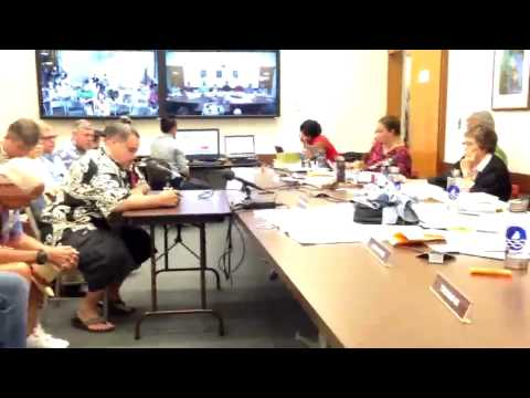 "7/10/15 Kimo Kaleohano testifies against the new ""Committee of Safety"""