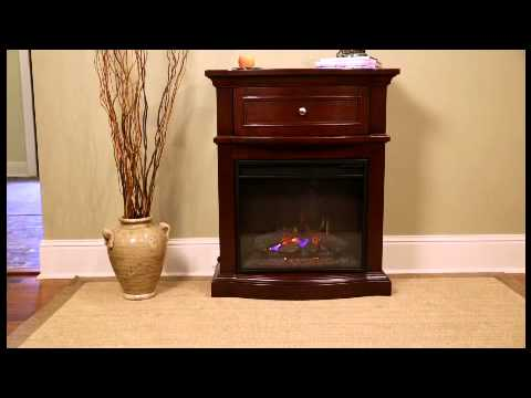 ChimneyFree Morgan Petit Foyer Electric Fireplace in Empire Cherry ...