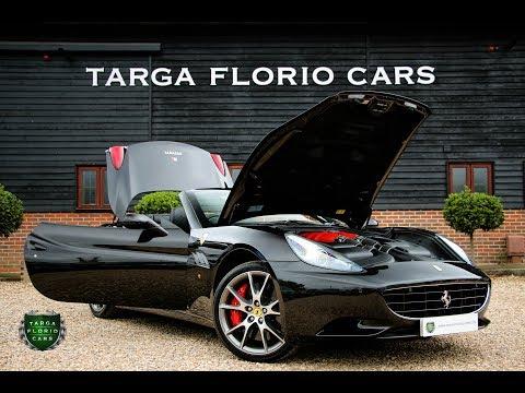 Ferrari California 4.3 2+ 2dr F1 Automatic Convertible in Nero Daytona 2012