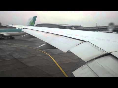 Etihad Takeoff - Dublin