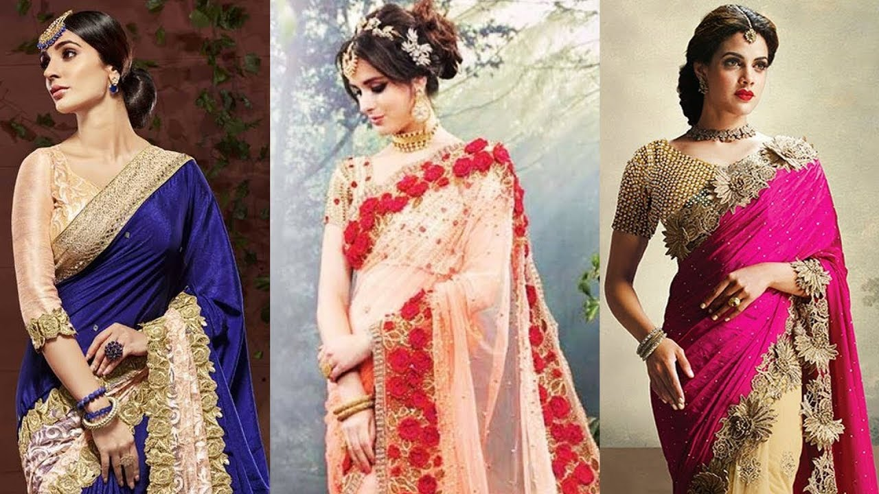 Designer Sarees For Wedding Reception With Price Wedding Reception Saree Designs