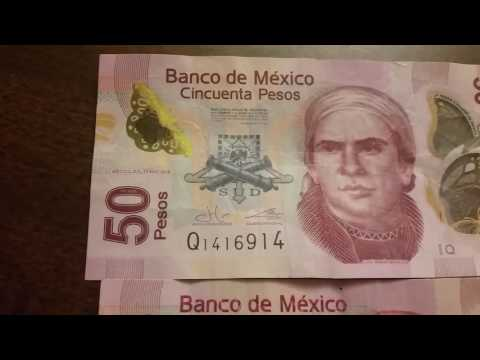 Mexican currency