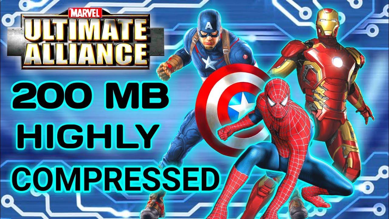 Marvel Ultimate Alliance Ppsspp Highly Compressed Fix Lag 100