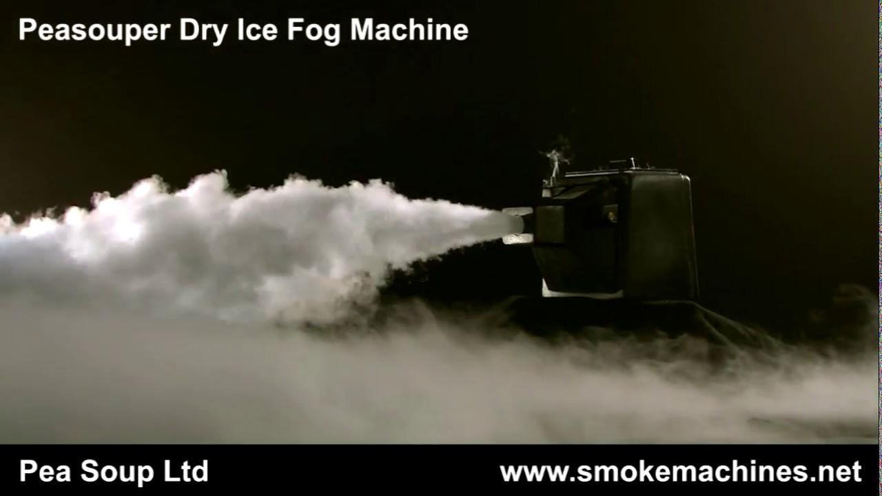 Peasouper dry ice fog machine