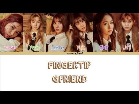 GFRIEND - FINGERTIP Lyrics (Color Coded Han/Rom/Eng)