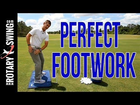 Perfect Footwork For Your Golf Swing *IMPORTANT*