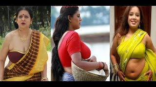 Tamil Movie and TV Serial Hot Aunty Actress - Tamil Hot Scenes Latest