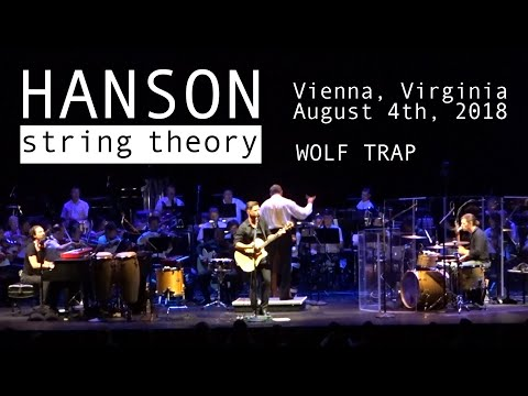HANSON String theory concert (parts)  - Vienna, Virginia - Wolf Trap (08/04/2018) Mp3