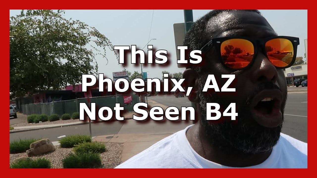 Phoenix AZ Historic Encanto Village City Tour   Vlog