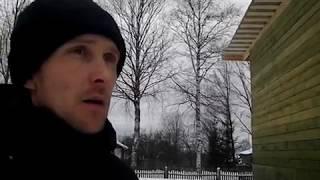 видео Зимовка сруба бани