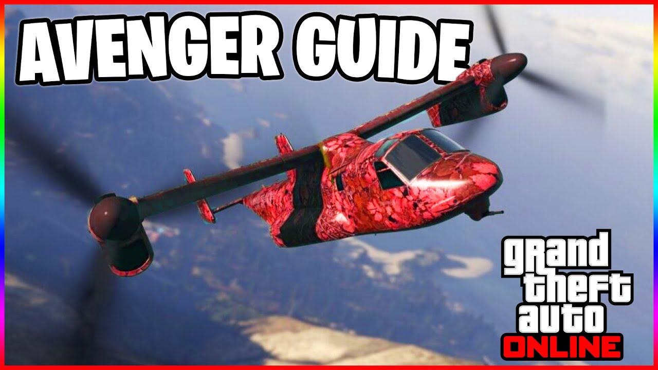 GTA 5 Online Avenger Guide