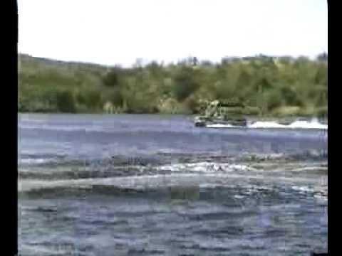 2002 Fisher Pontoon Boat