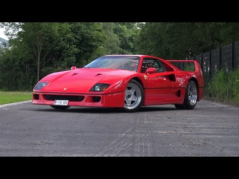 Ferrari F40 - The legendary icon from the 90's!