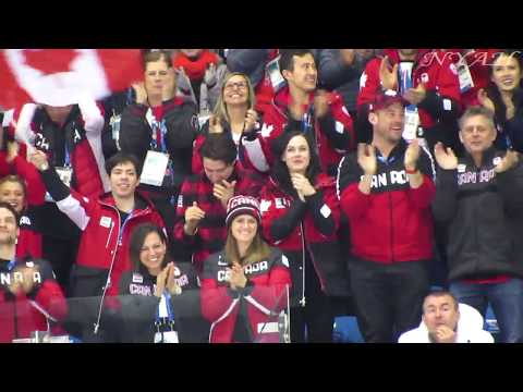 2018 OWG, Ladies FS, figure skaters's live reaction to Osmond's performance (FANCAM)