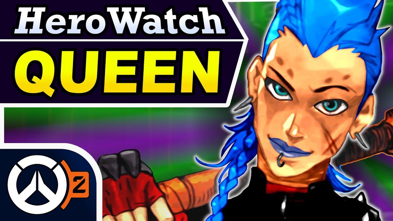 Download Overwatch 2 - JUNKER QUEEN New Hero Candidate Breakdown (HeroWatch)