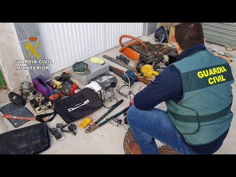 Arrestan a un vecino de Jumilla como presunto autor de 30 robos