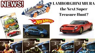 Upcoming 2018 Hot Wheels Super Treasure Hunt, Injustice 2, Star Wars Cars & More News #79