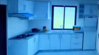 Azlan - Kitchen Cabinet 3d Drawing & Quotation