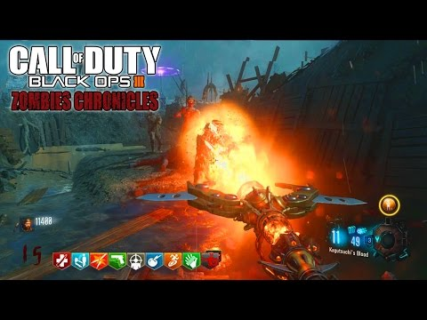 ORIGINS REMASTERED EASTER EGG SOLO LIVE! - BLACK OPS 3 ZOMBIE CHRONICLES DLC 5 GAMEPLAY!