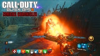 ORIGINS REMASTERED EASTER EGG SOLO LIVE - BLACK OPS 3 ZOMBIE CHRONICLES DLC 5 GAMEPLAY