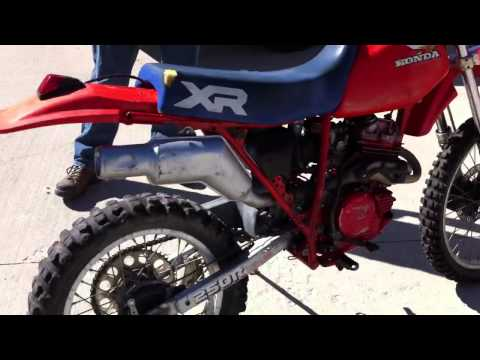 Honda XR 250 First Test Drive