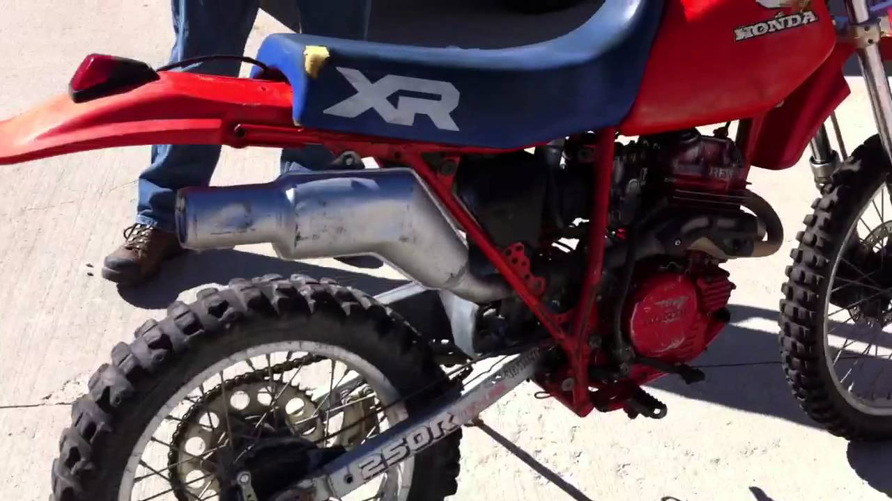 Maxresdefault on Honda Xr 250