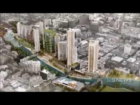 Nine News Sydney: Parramatta's Riverside Makeover (3/6/2015)