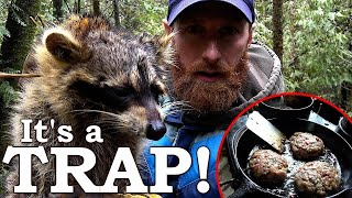 Would You Eat a RACCOON BURGER?!?! | Life at the Cabin in the Woods Ep8