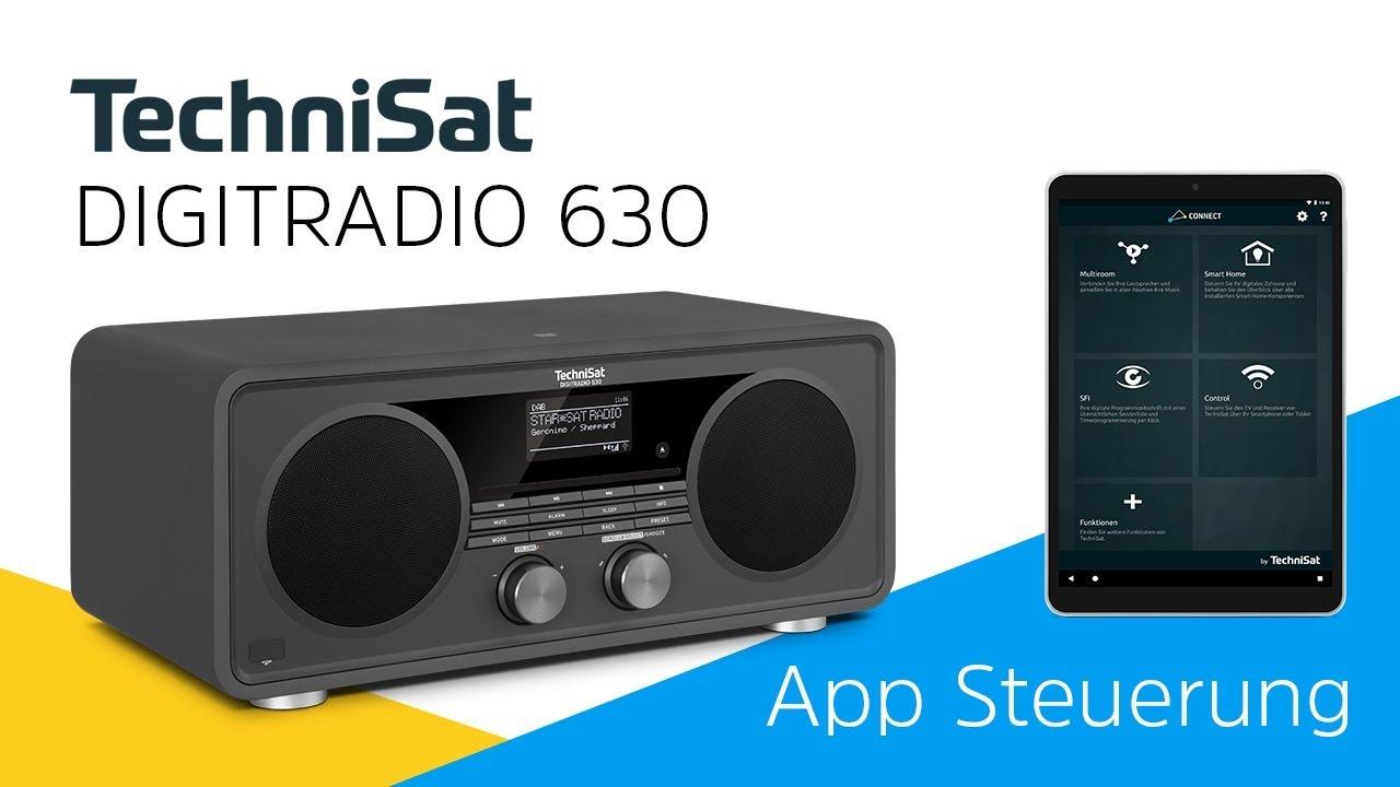 Video: Wie kann ich mein Radio per App steuern |  DIGITRADIO 630 | TechniSat