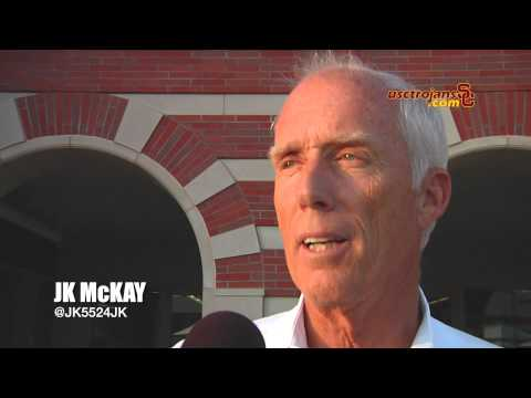 Pat Haden and JK McKay on the JMC opening