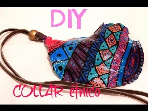 DIY collar étnico facil de hacer