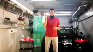 Jak odmastit lak na autě? - technologie odmaštění laku na automobilu - UMYEM