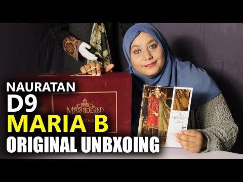 a20b9c2100 Maria B Wedding Collection 2018 - Unbox Nauratan BD09 - Sara Clothes Dresses