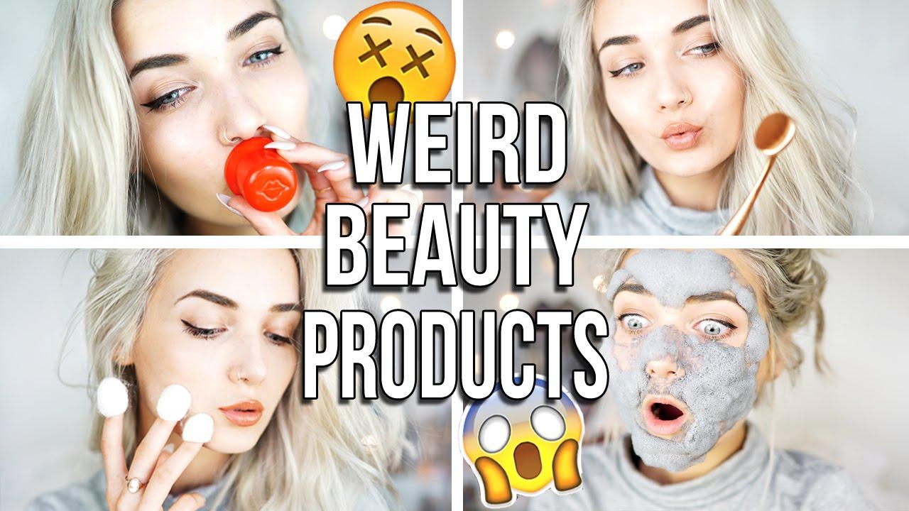 beauty weird tools testing