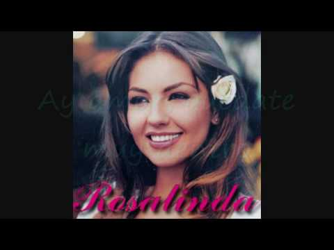 Rosalinda lyrics - Thalia