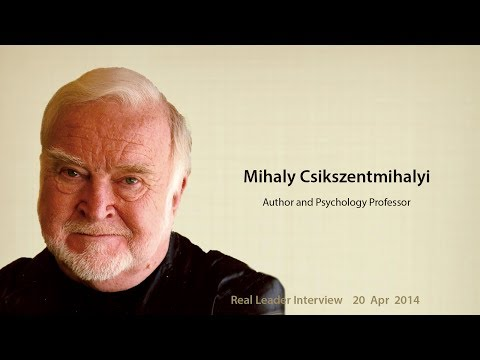 Mihaly Csikszentmihalyi on flow, intrinsic motivation, and happiness
